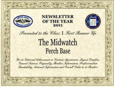 USSVI National Award 2011 Newsletter First Runner Up