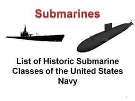 Click here for the Submarine Glossary