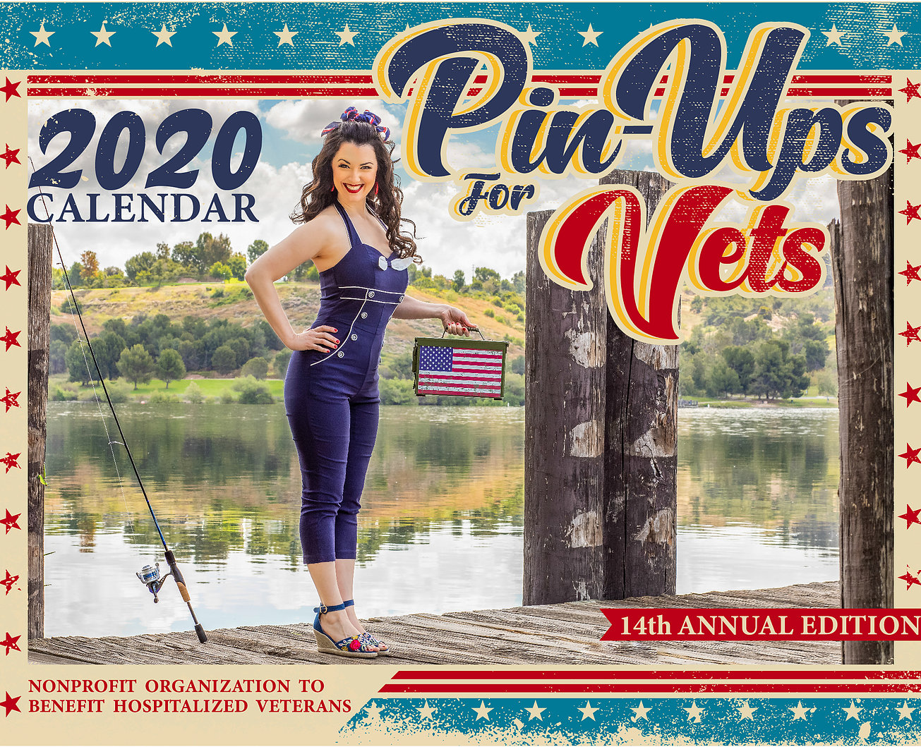 Go to the Pinups For Vets website.