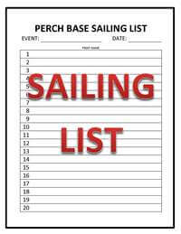 View the Sailing List